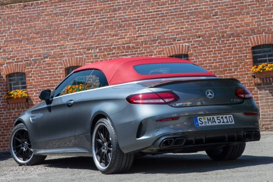 Mercedes-AMG C63S Cabriolet (A205)