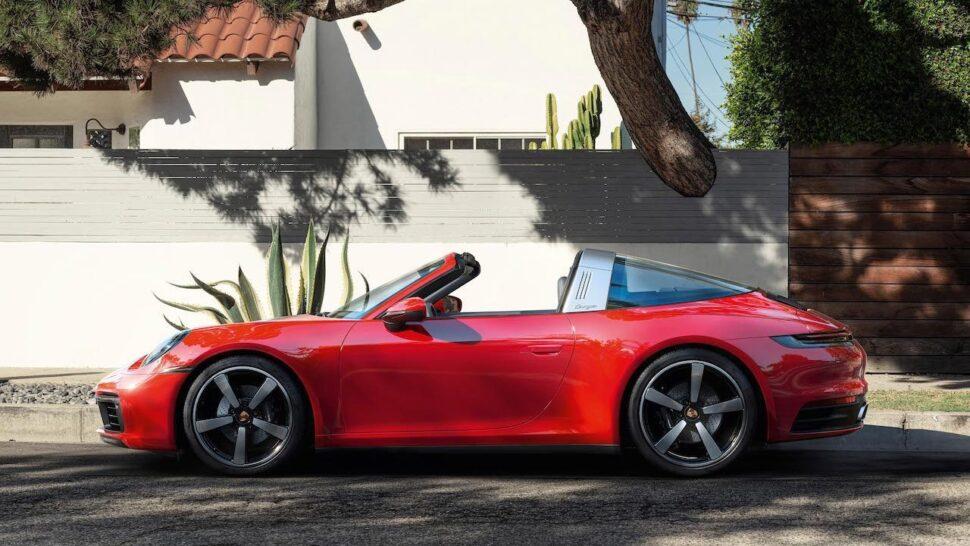 Porsche leveringen met meer dan 10 procent gedaald