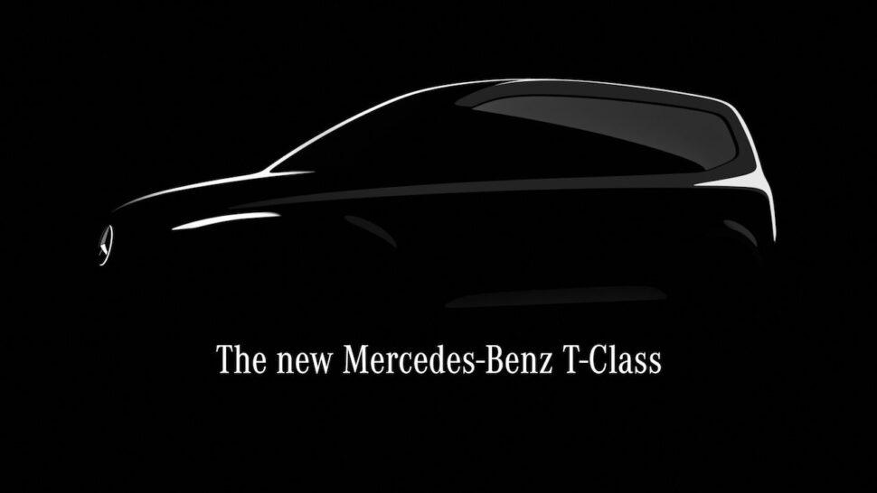 Mercedes T-klasse aangekondigd: terug naar de MPV
