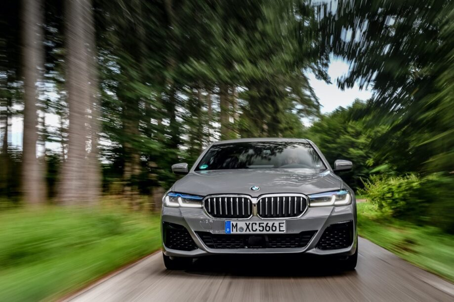 BMW 545e, die nu een prijs heeft gekregen