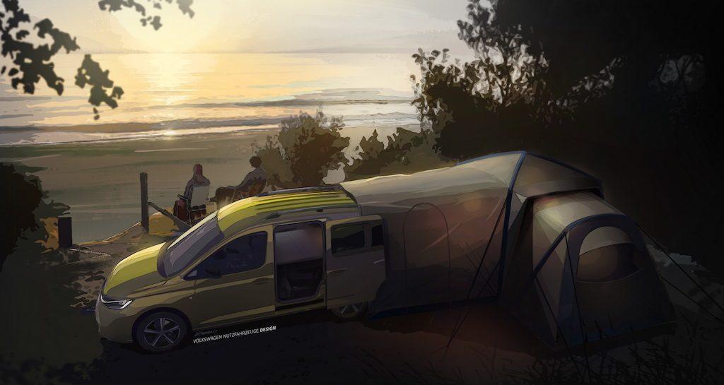 Volkswagen Caddy camper overzicht
