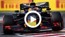 Video: Checo maakt eerste meters in Red Bull-auto
