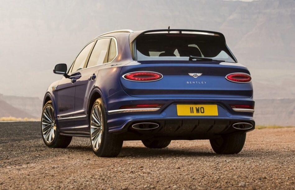 nieuwe Bentley Bentayga Speed
