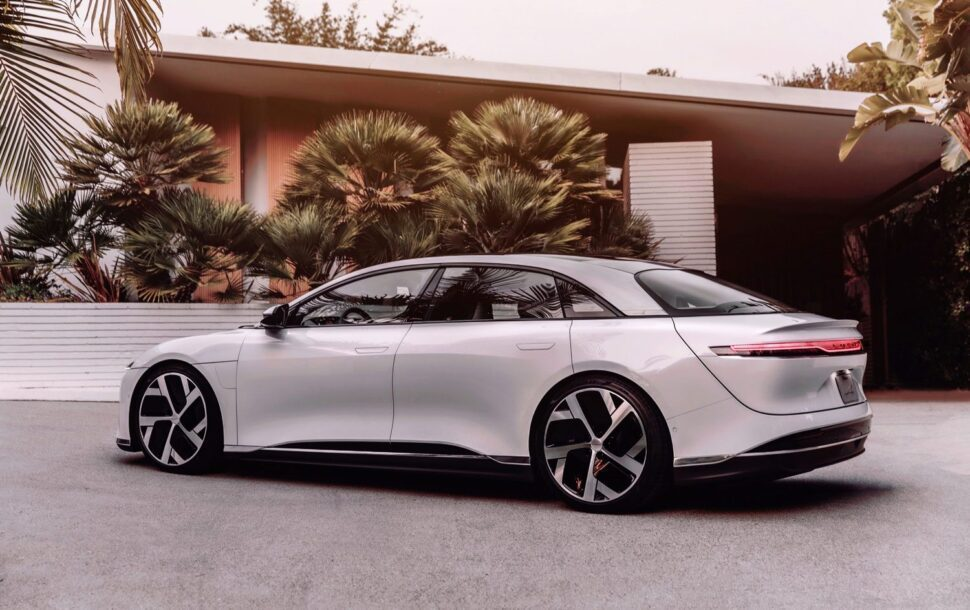 Lucid Air instapper