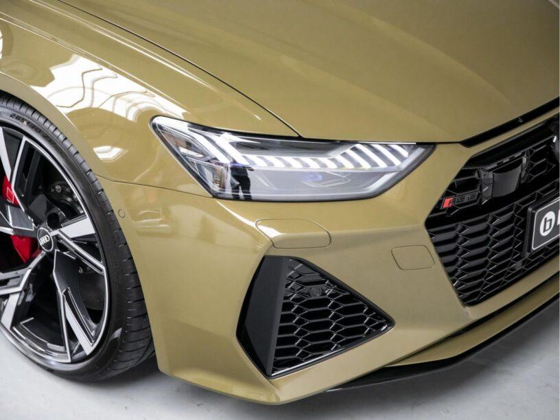 Audi RS6 Taktikgrün