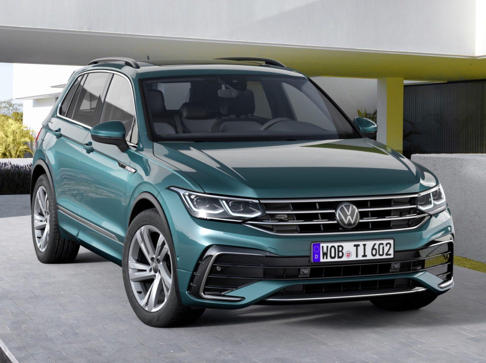 prijzen vernieuwde Volkswagen Tiguan