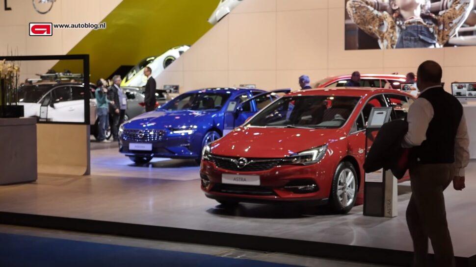 Opels op de Autosalon van Brussel van 2020