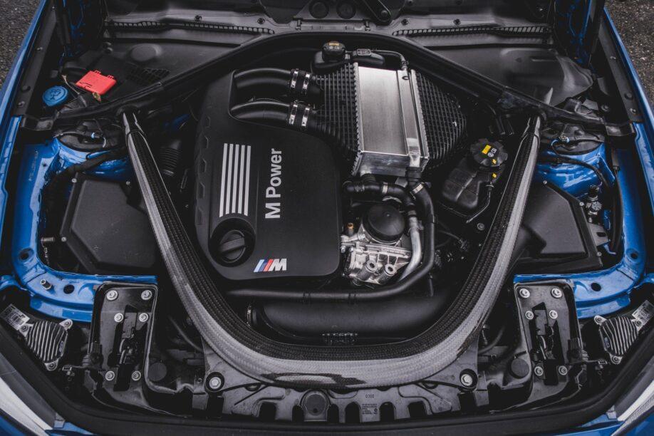 BMW M2 CS S55 blok