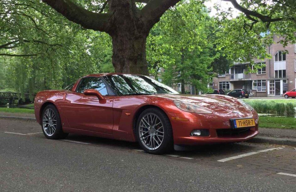 liefhebbersauto afschrijving - Corvette C6