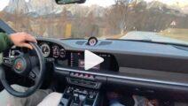 Video - man haalt nieuwe 911 Turbo, drift er meteen op los