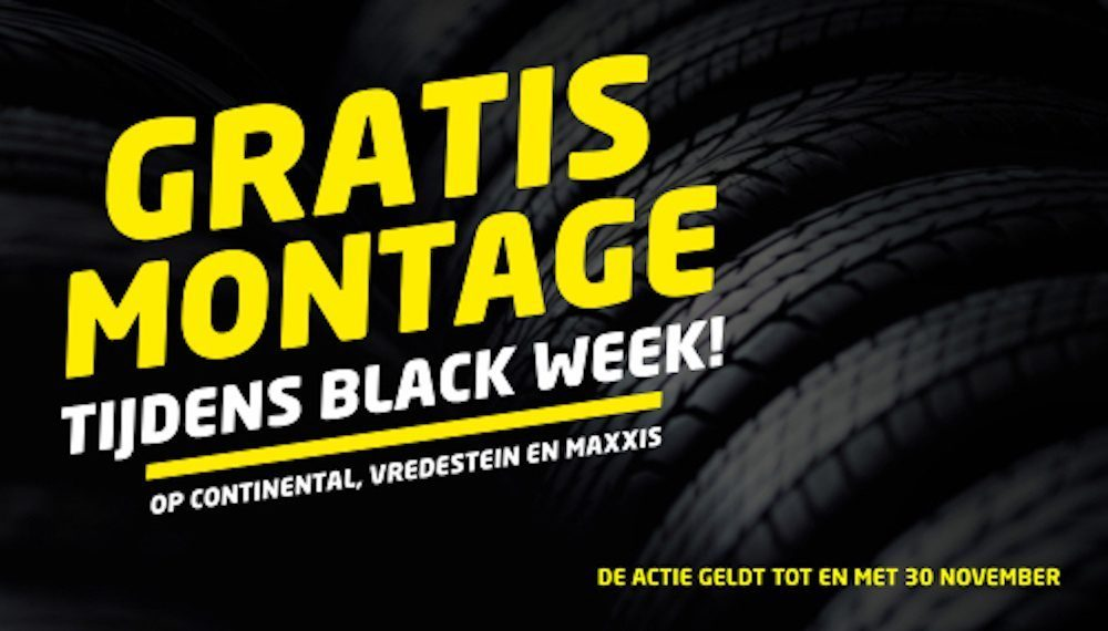 Nu al Black Friday bij Euromaster