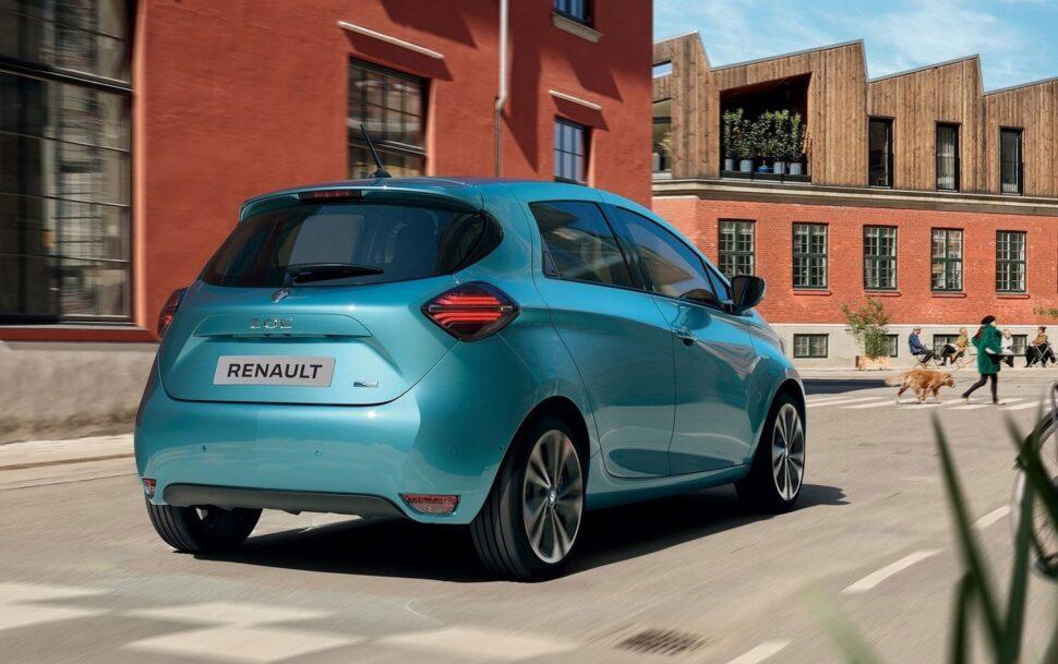 Renault Zoe: 5 Green NCAP sterren