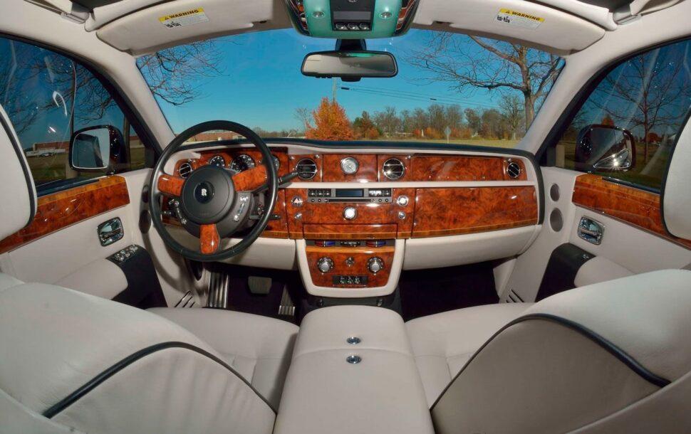 Rolls-Royce Phantom, een van de ex-auto's van Donald Trump
