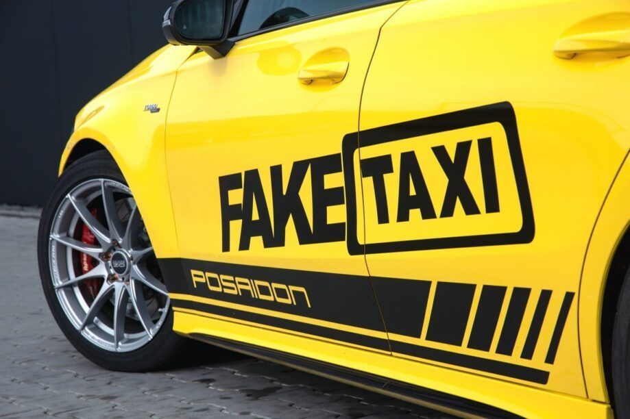 Fake taxi with 525 hp