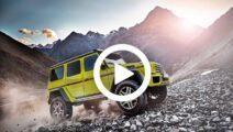 Video - Nieuwe Mercedes G-klasse 4x4 laat zich zien