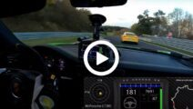 Video - 911 GT3 RS krankzinnig hard over de 'Ring