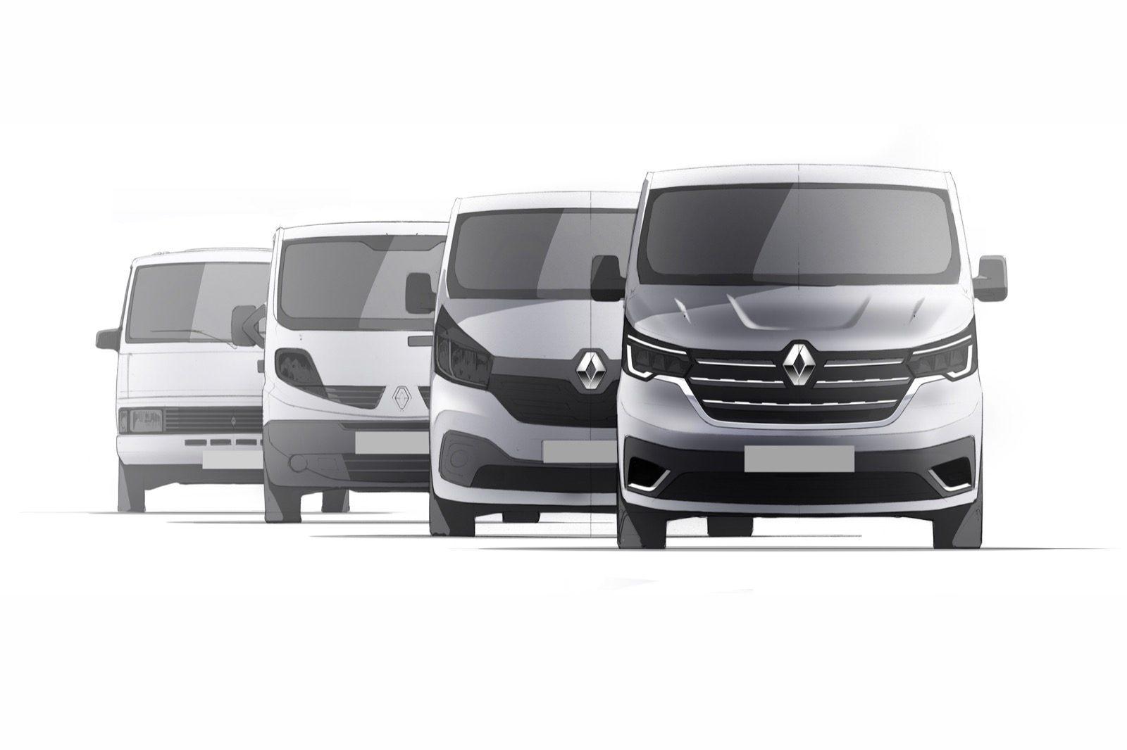 Opgefriste Renault Trafic