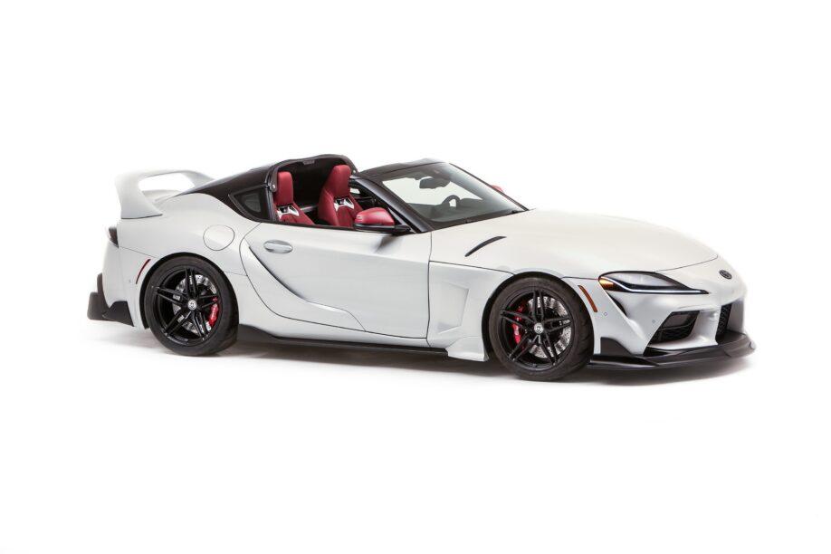 De Toyota Supra GR Sport Top