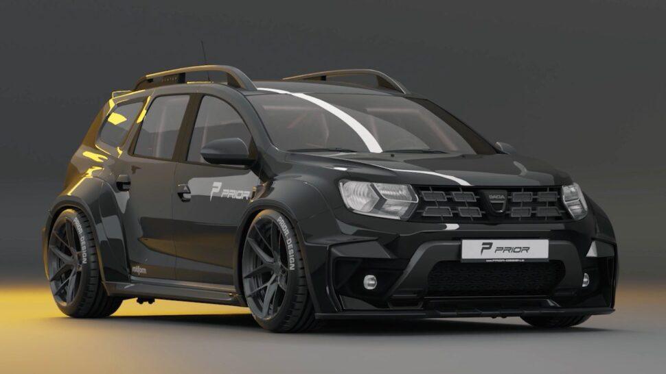 Naast Ferrari's en Lambo's doet Prior Design nu ook Dacia