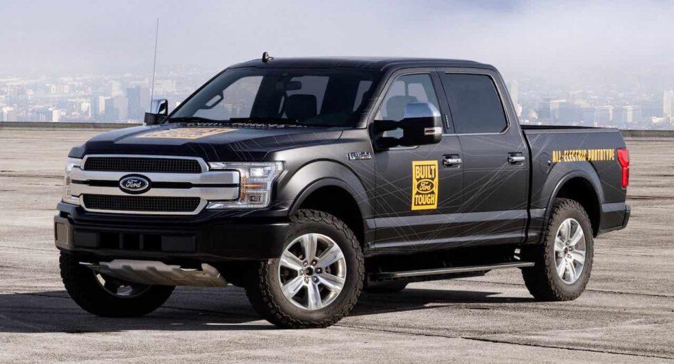 Ford deelt nieuwe beelden van elektrische F-150