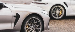 BMW M8 Competition Cabrio vs Porsche 911 Turbo S Cabrio