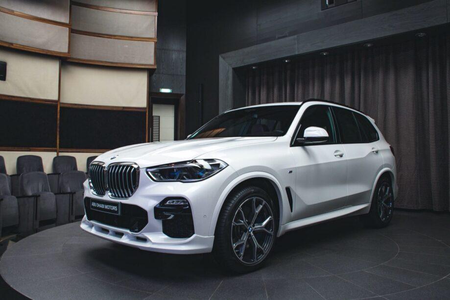 licht aangepaste BMW X5