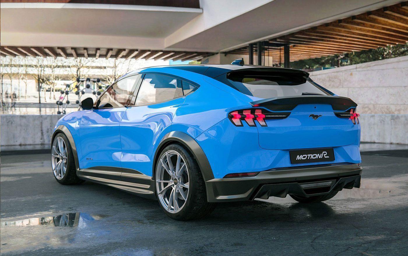 Mustang Mach-E met muscle car-look