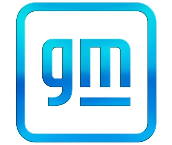 Het nieuwe logo van GM