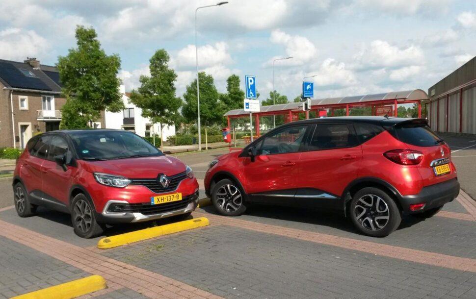 De Renault Captur was een van de populairste auto's van 2020 als het om de import van occasions gaat
