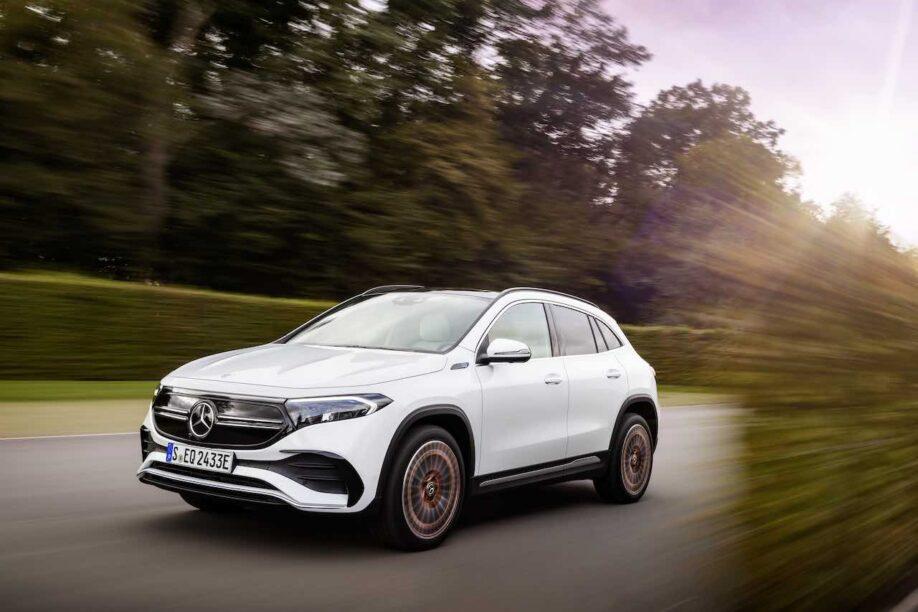 Mercedes EQA: kleine EV SUV die je 426 km ver brengt