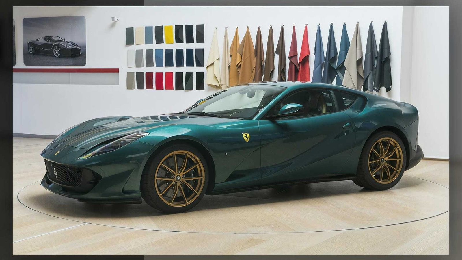 Ferrari 812 Superfast Tailor Made Is Extra Green Techzle