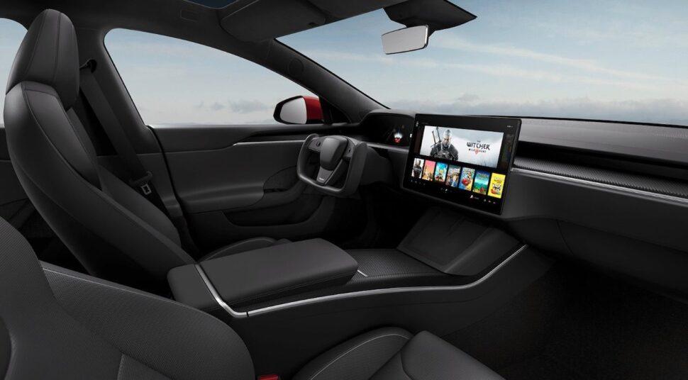 Tesla onthult Model S 2021 met opvallend interieur
