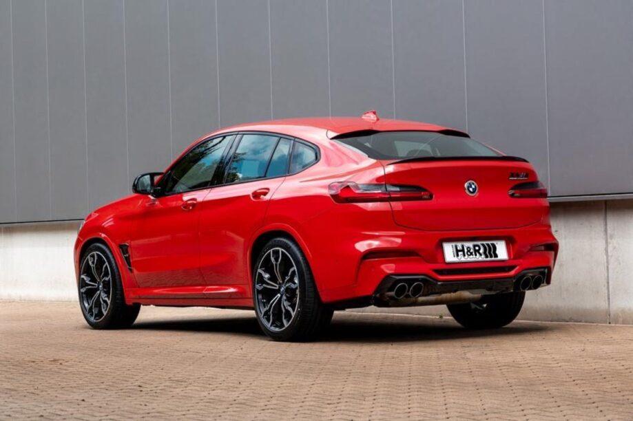 Verlaagde BMW X4 M