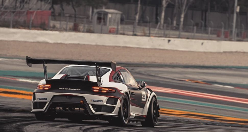 911 GT2 RS Max Verstappen rear