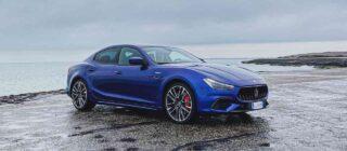 Maserati Ghibli Trofeo rijtest video