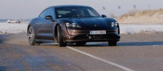 Porsche Taycan RWD rijtest video