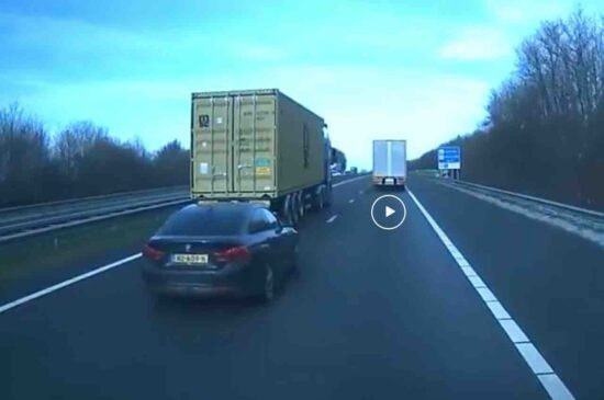 Video: Nederlander in BMW is een aso