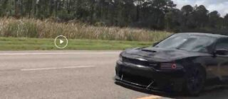 Video: Dodge driver thinks he can insert impressively