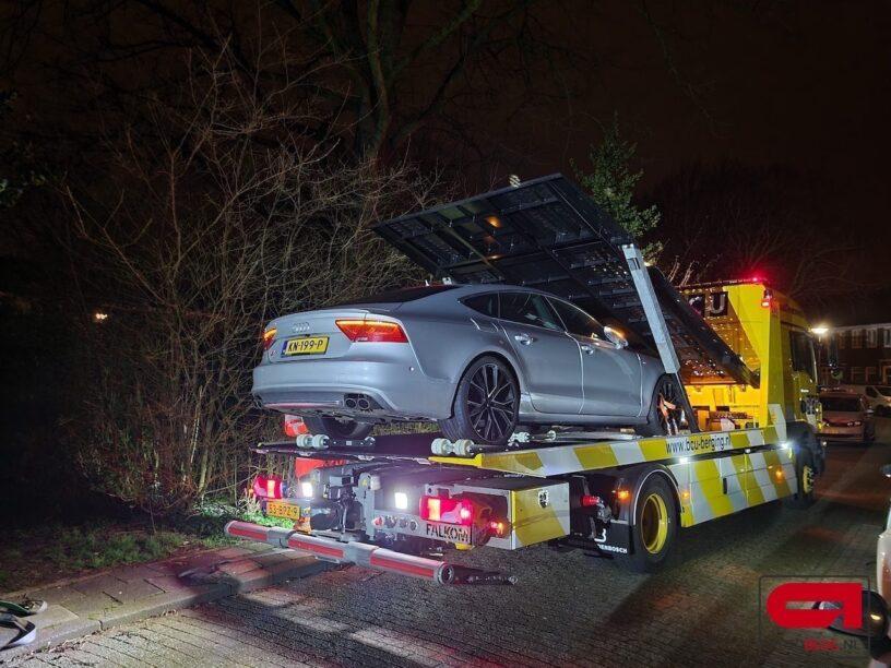 Gestolen Audi S7 door politie in beslag genomen