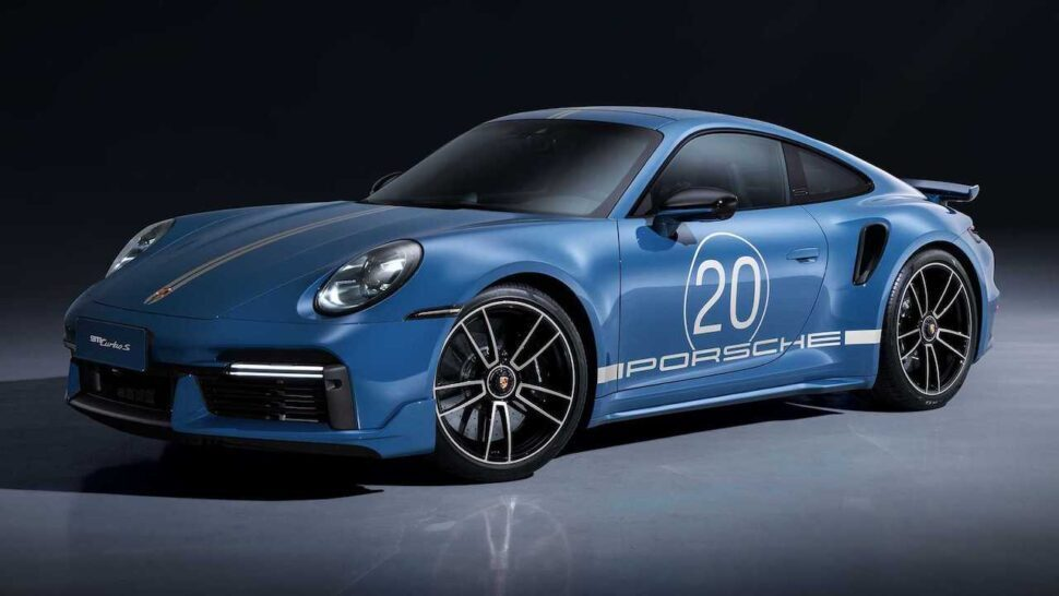 Porsche viert een feestje met deze 911 Turbo S