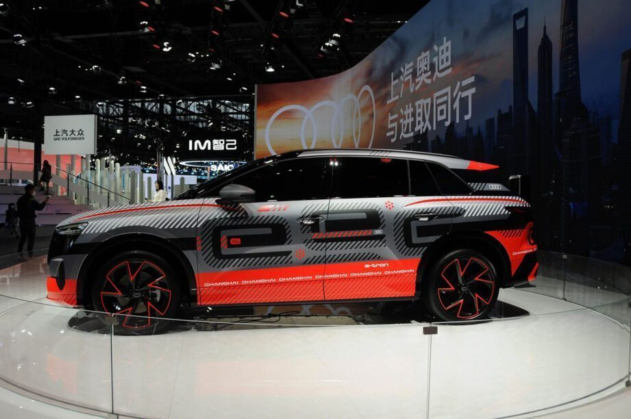 Audi e-tron SUV concept