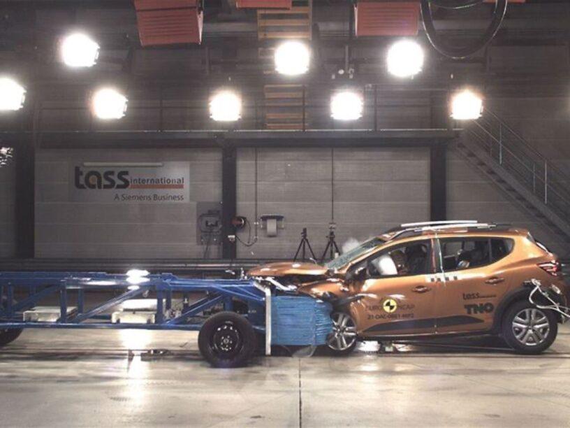 Dacia Sandero crashtest