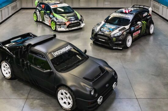 RS200 van Ken Block