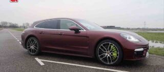 Porsche Panamera Turbo S E-Hybrid rijtest video