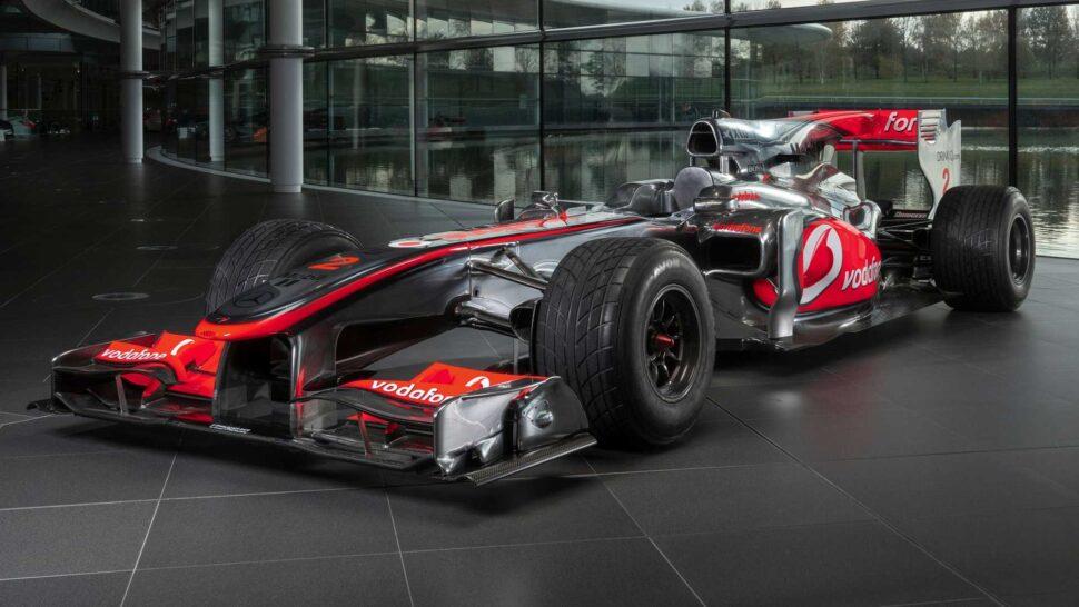 Lewis Hamilton McLaren MP4-25