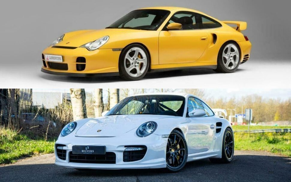 Porsche 996 vs 997 GT2