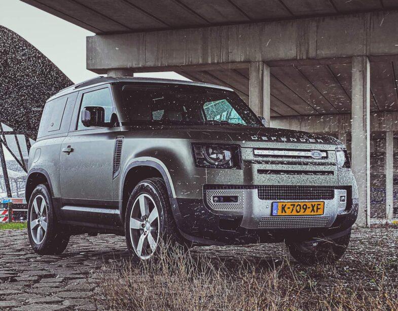 Land Rover Defender 90 rijtest