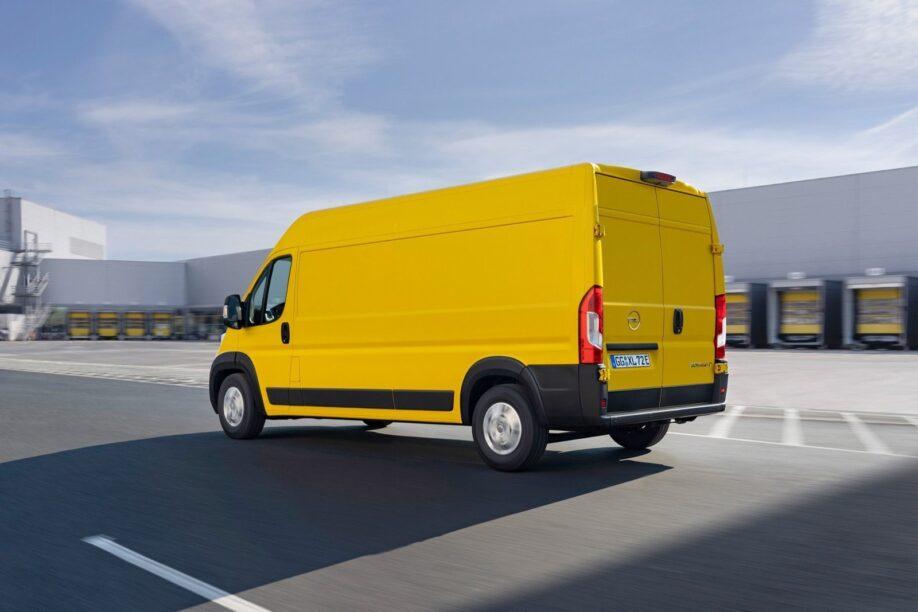 Nieuwe Opel Movano