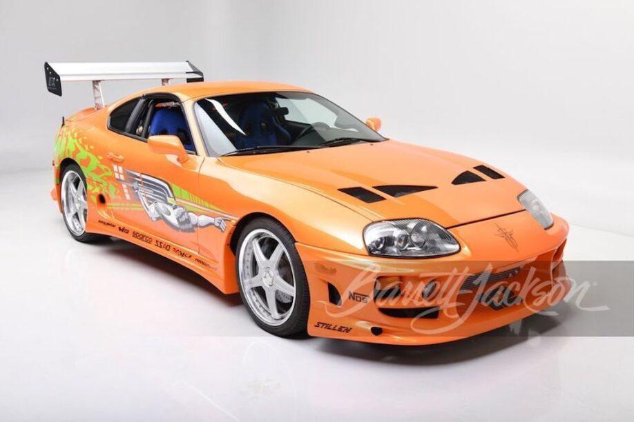 Echte Fast & Furious Supra onder de hamer