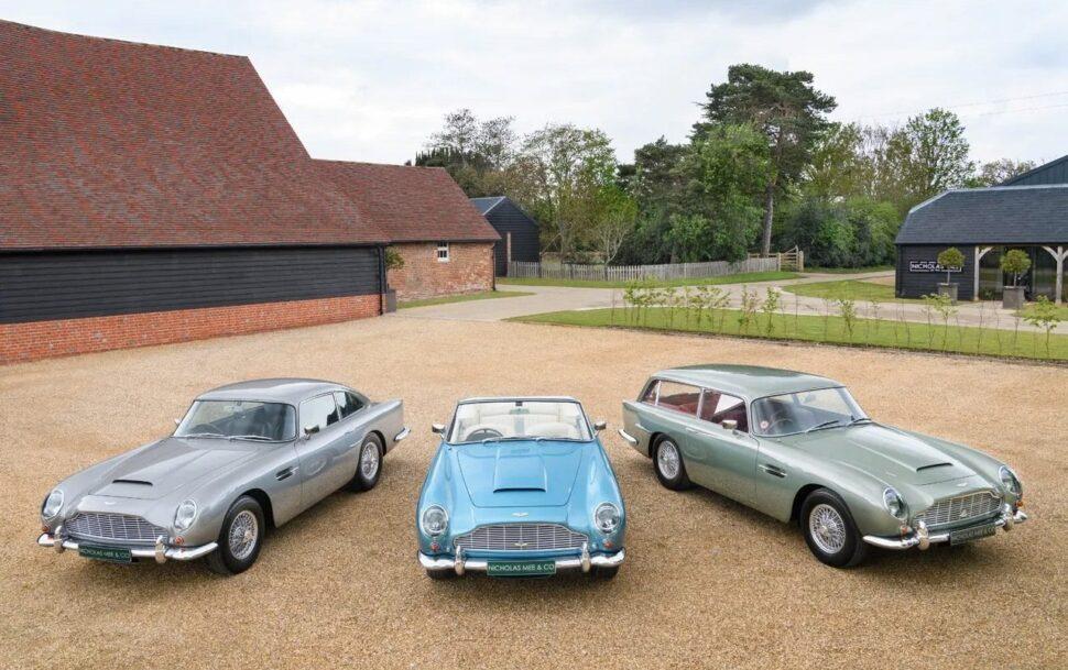 Aston Martin DB5 trio
